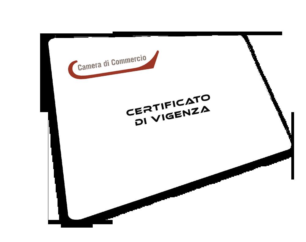03 >> Certificato di Vigenza | VisureXpress